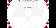 MUJERES PARA LA HISTORIA - MARY CASSAT