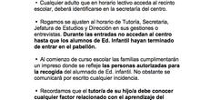 Normas de convivencia Ceip Ágora Brunete 5