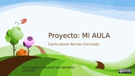 PROYECTO FINAL: MI AULA