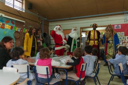 Los RRMM y Papá Noel en INf 3A