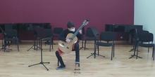Audición de Guitarra: alumnos de 2º y 4º EE. EE.Parte II (27/05/2021)