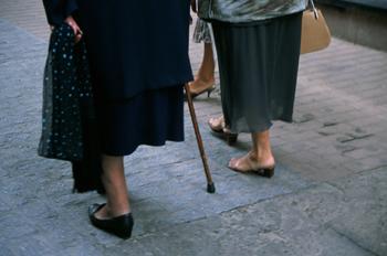 Pies y piernas de señoras, Lugo, Galicia