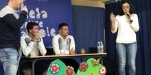 Jugadores del CD Leganés visitan el cole 5