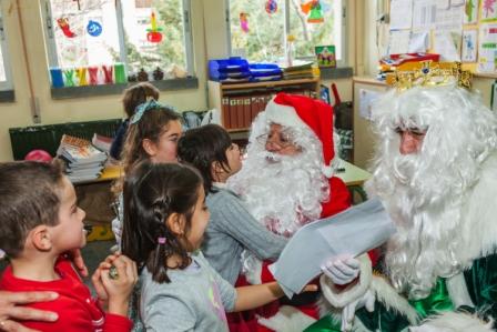 Los RRMM y Papá Noel en INF 5A 18
