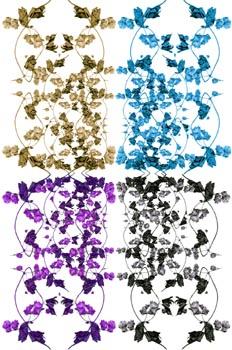 Composición cuatricolor de lúpulo