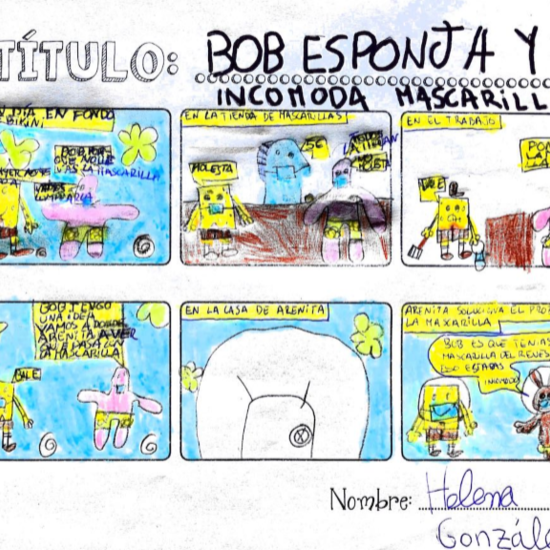 El cómic de Helena
