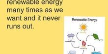 PRIMARIA 5º - RENEWABLE SOURCES OF ENERGY - NATURAL SICENCE - FORMACIÓN