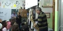El saxofón en el aula