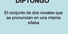 EL DIPTONGO