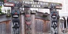 Totem, Parque Thunder Bird, Victoria