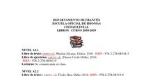 lista libros francés rectificación 1