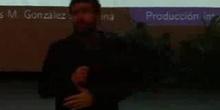 Galapinux 2010 - D. Jesús M. González Barahona - Producción intelectual libre: una alternativa