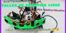 #cervanbot: Robótica libre con CREA Robótica Educativa (grabado por alumnos)