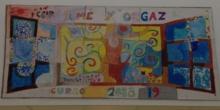 Puzzle mural cooperativo