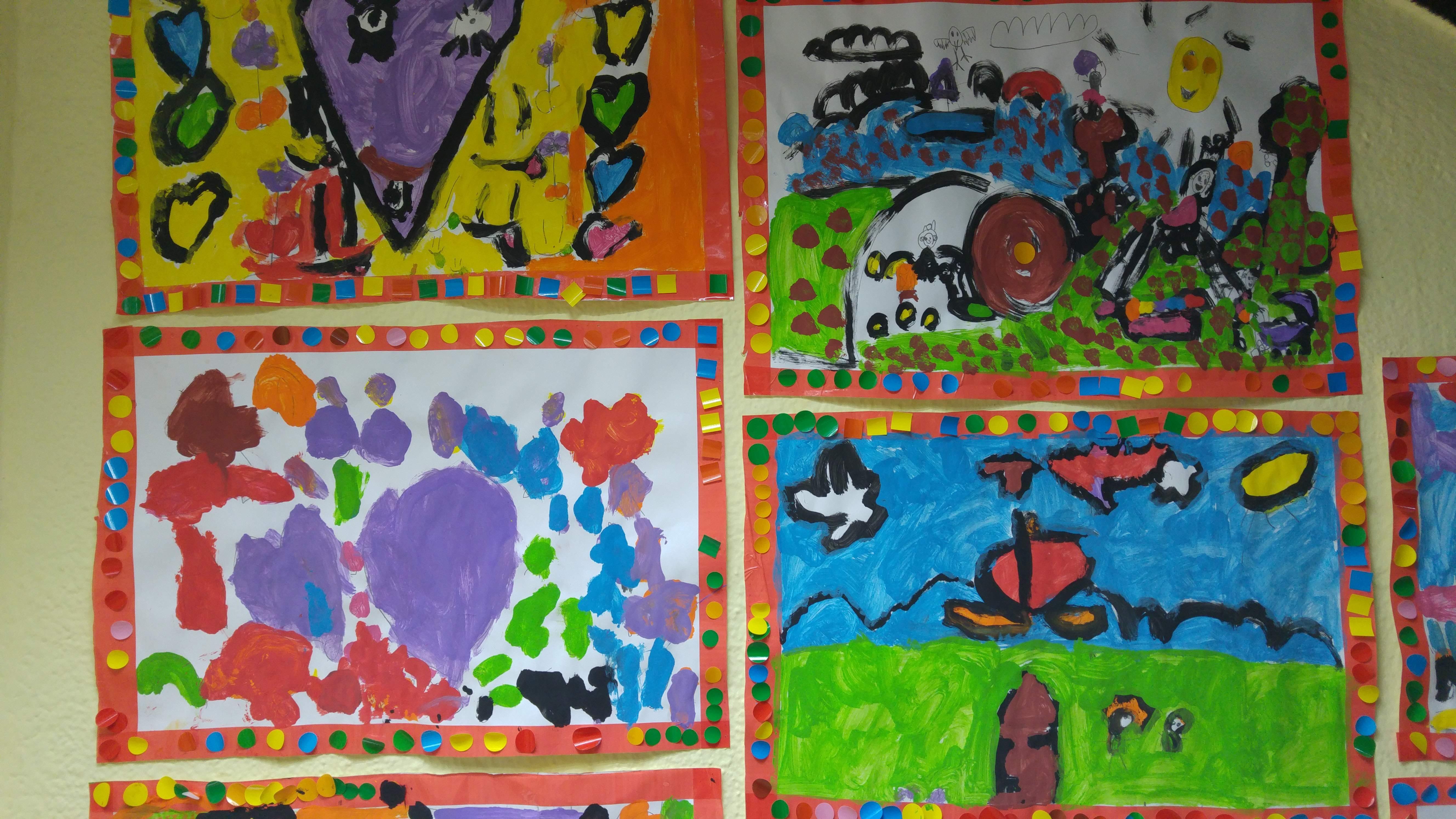 TALLER DE PINTURA CREATIVA ED. INFANTIL 3