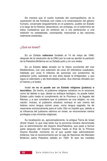 Página 58 de la Guía Didáctica de la Shoá