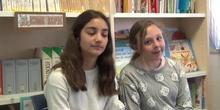 Dos alumnas nos cuentas sus experiencias en el cole