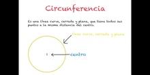 PRIMARIA - 3º - LA CIRCUNFERENCIA Y EL CÍRCULO - MATEMÁTICAS