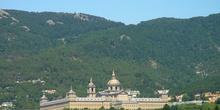 Vista panorámica del Monasterio de El Escorial