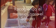 IMPLÍCATE POR EL SÁHARA: RECOGIDA DE MATERIAL ESCOLAR 1