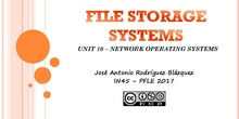 File storage systems