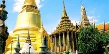Templo dorado, Bangkok, Tailandia