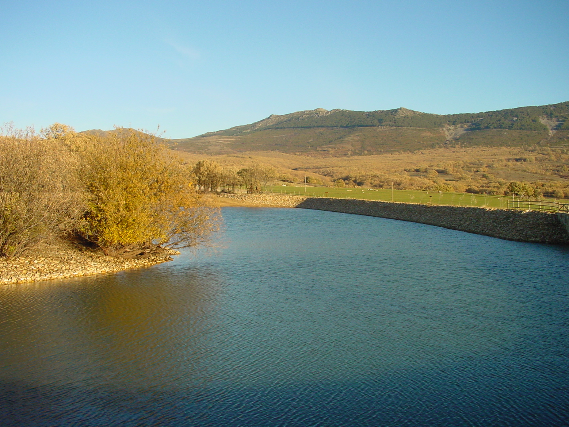 Laguna del Salmoral en Prádena del Rincón