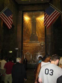 Interior Empire State Building