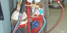 Equipo portátil de soldadura oxiacetilénica