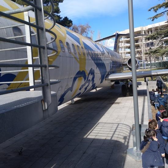 Visita al aeropuerto 1º EP 8
