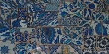 Detalle de azulejos en Rüstem pasa Camii, Estambul, Turquía