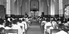 Interior de la Catedral de Nacala, Mozambique