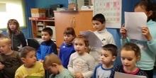 Navidad alumnos rumano