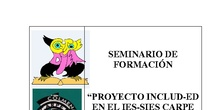 Seminario de Formación: Proyecto INCLUD-ED en el IES_SIES Carpe Diem