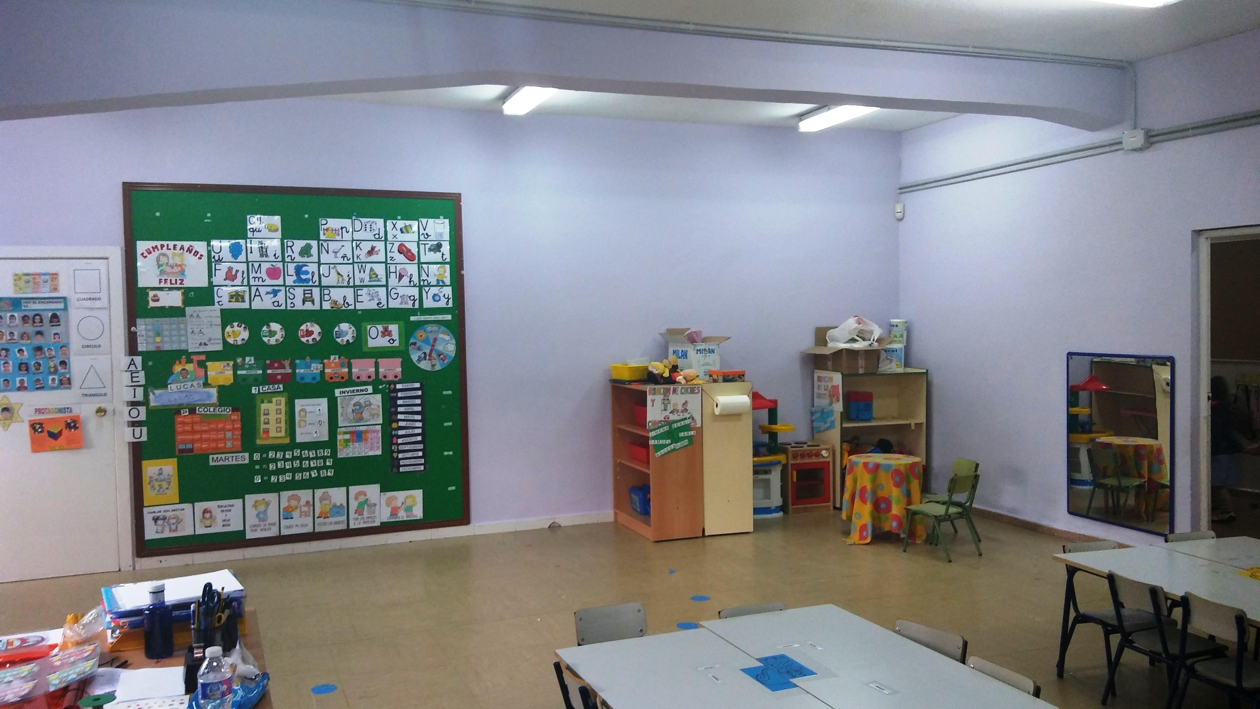 Aulas de Infantil 7
