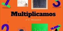 Comenzamos a multiplicar 2º primaria
