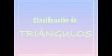 PRIMARIA - 6º - CLASIFICACIÓN DE TRIÁNGULOS