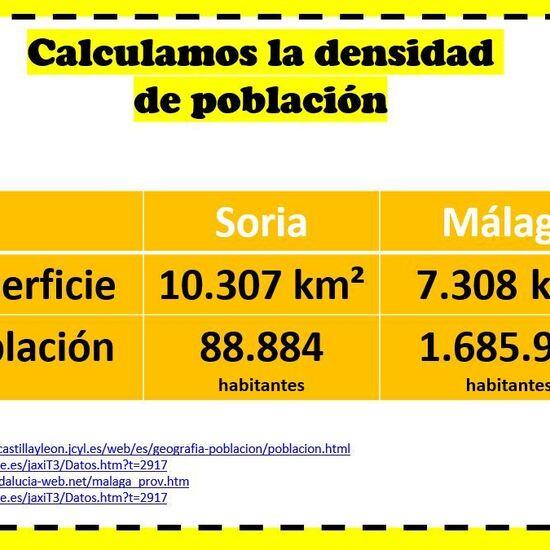 Datos para problema cálculo densidad