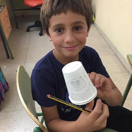5ºPrimaria_Monster Paper Cup_arts&Crafts_CEIP FDLR_Las Rozas_2019-2020 6