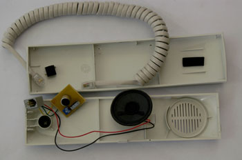 Tel fono terminal de vivienda portero autom tico - Telefono portero automatico ...