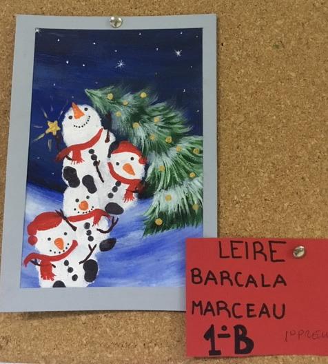 Tarjetas navideñas 2018 5