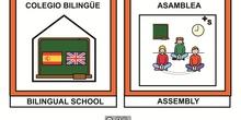 Pictogramas bilingüe 13