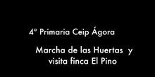 Marcha de los huertos y visita finca El Pino