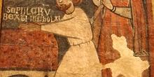 Grabado del Sepulcro de San Nicolas de Bari, Huesca