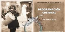PROGRAMACIÓN CULTURAL JMD SAN BLAS-CANILLEJAS DICIEMBRE