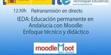 IDEA: Eduación permanente en Andalucía con Moodle