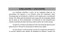 Análisis descriptivo a las respuestas dadas al Cuestionario sobre Preconcepciones de Intimidación y Maltrato entre Iguales para el Profesorado (Áviles, 2002)