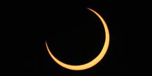Fase central del eclipse anular 04