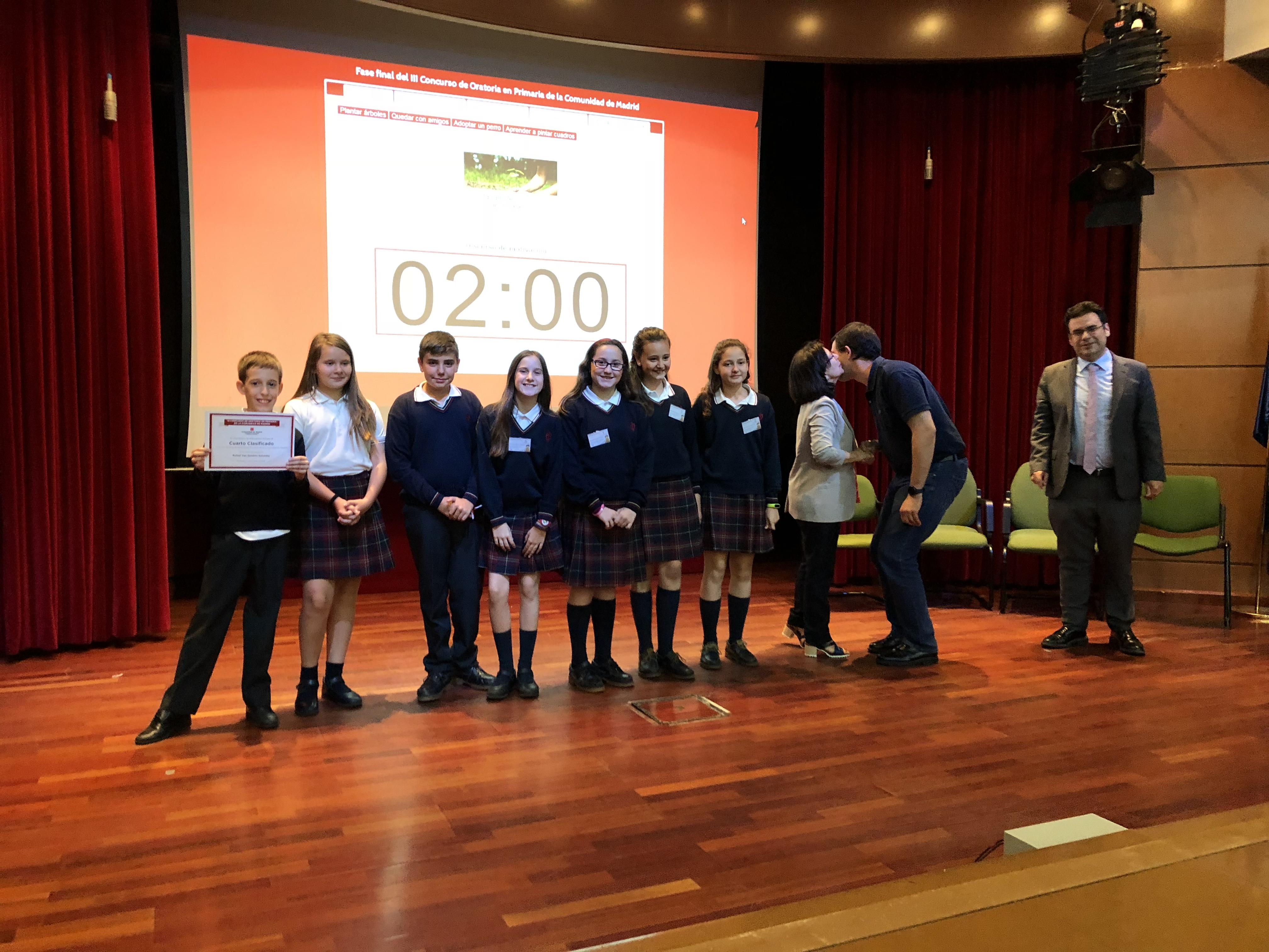 Fase final del III Concurso de Oratoria en Primaria de la Comunidad de Madrid 22