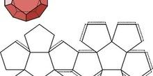El dodecaedro y su desarrollo